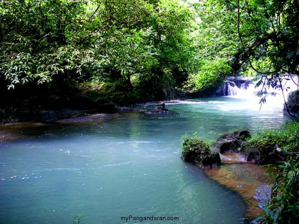 Wisata Alam Citumang Pangandaran